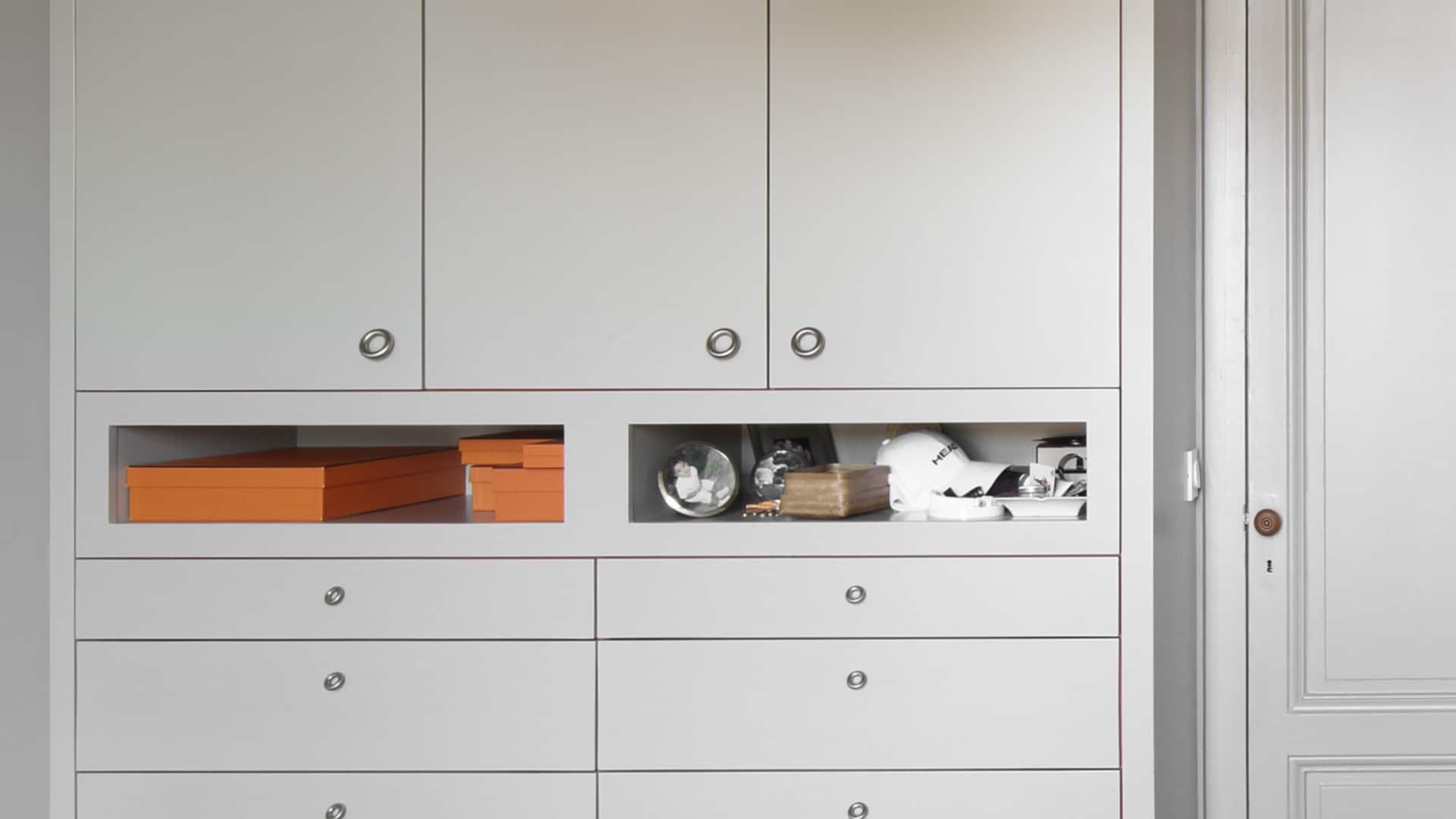 Meuble Sur Mesure Bordeaux design mobilier - agencement de rangements pour une chambre